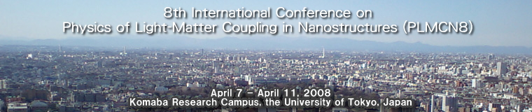 8th International Conference on Physics of Light-Matter Coupling in Nanostructures